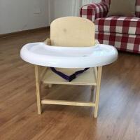 儿童餐椅实木小孩吃饭餐桌椅婴儿分体餐椅多功能宝宝座椅