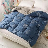 被子冬被单人棉被学生被芯女寝室宿舍双人丝绵非棉加厚保暖冬季T 200*230冬被 7斤半