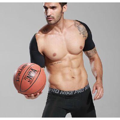 运动护肩男篮球保暖双肩护具肩膀护套装备护膝健身女胳膊护肘专业 品质保证 售后无忧 支持货到付款