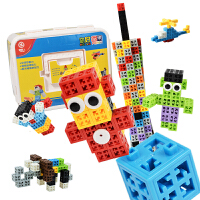 四喜人品果积木你好品果儿童拼插拼装积木益智玩具3岁以上玩具