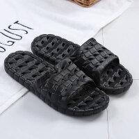 家用洗澡室内拖鞋女可爱韩版夏天情侣塑料家居鞋浴室酒店托鞋