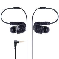 铁三角(Audio-technica) ATH-IM50 BK 双动圈入耳耳机 黑色