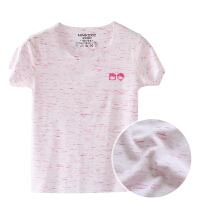 男童T恤莫代尔短袖女童宝宝婴儿夏装打底衫超薄款无痕儿童夏季t恤