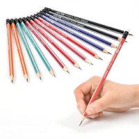 晨光铅笔小学生12支用HB/2比铅笔六角/三角矫正握姿无毒批发