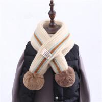 儿童秋冬季保暖围脖围巾长款披肩宝宝洋气