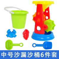 儿童戏水洗澡工具桶套装组合 宝宝玩沙大号铲子沙滩玩具男孩女孩
