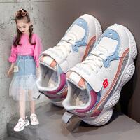女童鞋子2020春季新款童鞋儿童时尚单鞋春款老爹鞋