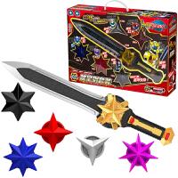 唤星剑战星枪套装三宝神兽金刚玩具3超变星甲五合体变形玩具