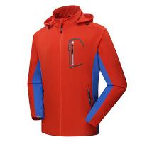 地秋季男款户外运动风衣 拼色弹力耐磨薄款休闲外套