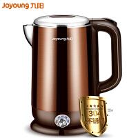 Joyoung/九阳 K17-W6电热水壶304食品级不锈钢家用控温烧开水煲电水壶