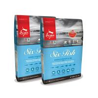 【网易考拉】Orijen渴望猫粮 加拿大进口 六种鱼无谷天然全猫粮成猫幼猫 5.4kg/包 2包装