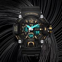 时尚霸气手表男学生运动防水夜光机械男士超大潮黑科技军表户外电子表