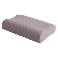 幻醒家纺泰国乳胶枕成人枕头枕芯颈椎护颈按摩枕配竹节棉枕套