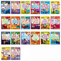 美国小学阅读教材书My Weird School 21本 儿童英文原版桥梁书 我那奇怪的学校 疯狂学校 非常好的桥梁章节书 送音频
