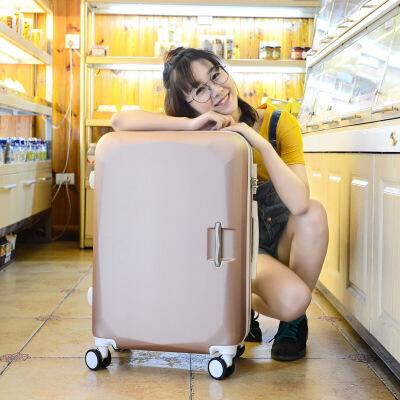 韩版20寸小行李箱女学生万向轮拉杆箱子母箱迷你旅行箱24寸密码箱 一般在付款后3-90天左右发货,具体发货时间请以与客服协商的时间为准