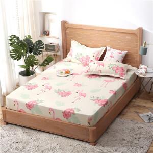 床笠席梦思床罩保护套防尘罩床垫罩单件床套双人单人防滑床单