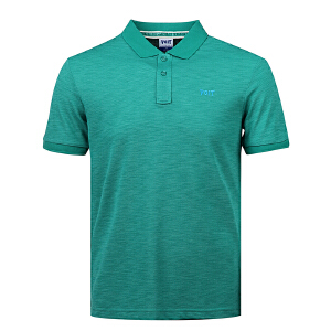 沃特voit男士夏季运动休闲polo衫时尚潮流短袖 速干透气T恤