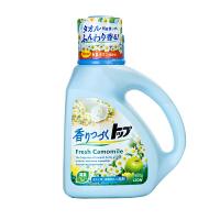 LION狮王 日本原装进口TOP持久香氛柔顺洗衣液 洋甘菊香型900g