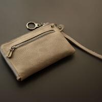 手拿小零钱包迷你拉链硬币女士手腕双层多功能短款散钱袋