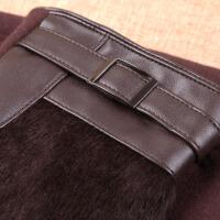 时尚大气男士触屏手套 保暖加绒加厚开车手套绒布手套 可礼品卡支付