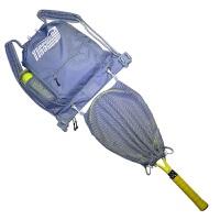 网球壁球羽毛球运动包训练装备包tigerbro便捷式多功能双肩背包 钢灰 网球包