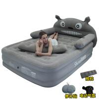 龙猫床榻榻米充气床垫地垫可折叠气垫懒人充气床单人家用卡通气垫SN4042 1x1x1cm