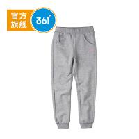 【2件3折到手价:65.7】361° 361度童装 冬季女童裤子针织加厚长裤儿童N61742551