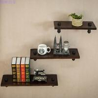 字隔板墙上置物架层板书架实木壁挂客厅墙壁搁物架厨房支架 长120 宽20 厚2
