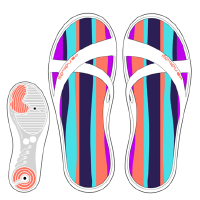 户外女士沙滩鞋凉鞋拖鞋游泳拖鞋防滑游泳运动拖鞋女