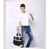 时尚男包休闲包手提包 横款男士包包帆布包 单肩斜挎电脑包 支持礼品卡支付
