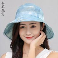 时尚太阳帽女夏天出游防晒遮阳帽女士凉帽子可折叠夏季百搭 M(56-58cm)