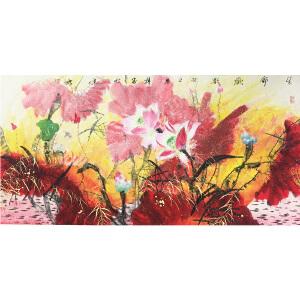 韩墨《生命欢歌》著名画家
