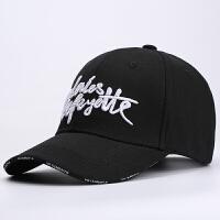 男士运动棒球帽韩版青年嘻哈帽潮人户外遮阳防晒帽百搭女鸭舌帽