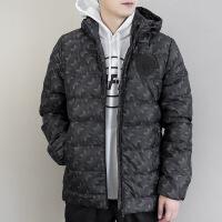 Adidas阿迪达斯 男子 足球羽绒服 连帽保暖夹克羽绒 BQ2267