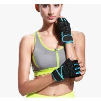 健身手套男运动单杠女训练引体向上健身房专业拉器械跑步半指锻炼手套