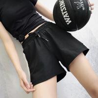 运动短裤女夏速干宽松跑步休闲高腰瑜伽裤防走光健身热裤【潮流】【超火】