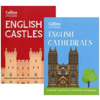 英国城堡和大教堂 英文原版 English Castles English Cathedral 英国建筑历史 内含精美全