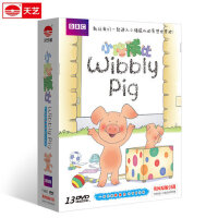 BBC 小猪威比 Wibbly pig13DVD 幼儿童早教动画片卡通学