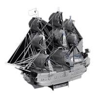 3D立体全金属拼图DIY模型l黑珍珠海盗船拼装益智玩具模型拼图