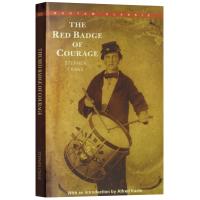 正版 The Red Badge of Courage 红色勇气徽章 英文原版 英文版军事纪实文学小说 进口书籍