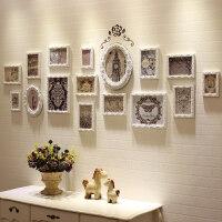壁饰装饰品欧式实木挂墙上客厅卧室玄关餐厅创意房间相框墙面挂件
