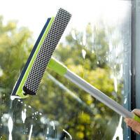 耀点100 优质长手柄双面玻璃清洁器清洁刮多色*