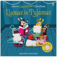 Llamas in Pyjamas 穿着睡衣的骆驼 英文原版儿童发声书 3-6岁