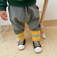 婴儿裤子春装女童打底裤1岁6宝宝外穿潮男童休闲裤