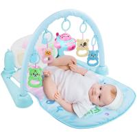 0-1岁儿童脚踩玩具婴儿健身架器脚踏钢琴男孩女孩益智玩具