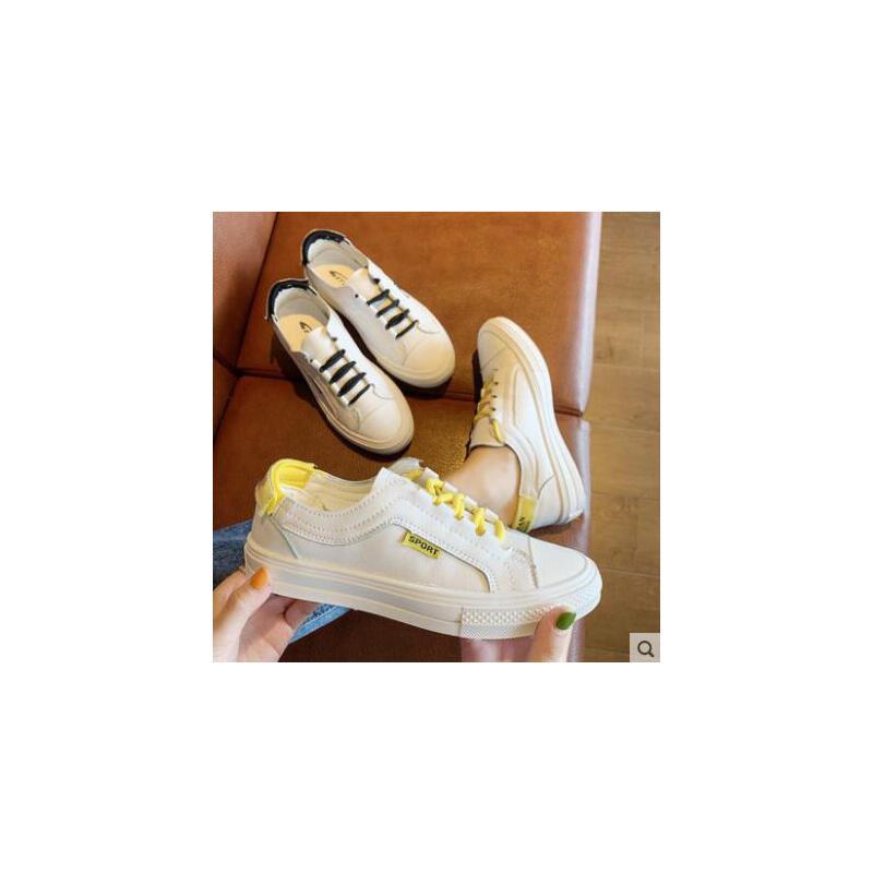 小白鞋女新款百搭平底板鞋透气女鞋网红单鞋休闲白鞋 品质保证 售后无忧