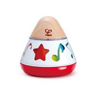 Hape旋转音符八音盒0岁以上婴幼儿音乐玩具早教益智E0332