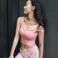 性感运动内衣女聚拢美背健身吊带背心式文胸收副乳瑜伽背心