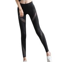 夏健身裤女弹力紧身宽松速干薄款九分裤瑜伽长裤跑步七分运动裤女