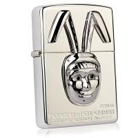 芝宝Zippo打火机 镀银贴章雕刻 33610 Popee动漫表演者 2002年独立限量号绝版收藏款